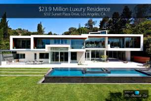 California Contemporary Homes 23 9 million luxury residence 1232 sunset plaza drive