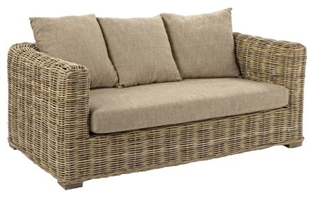 divani da giardino in rattan divano rattan naturale 2 posti mobili etnici provenzali