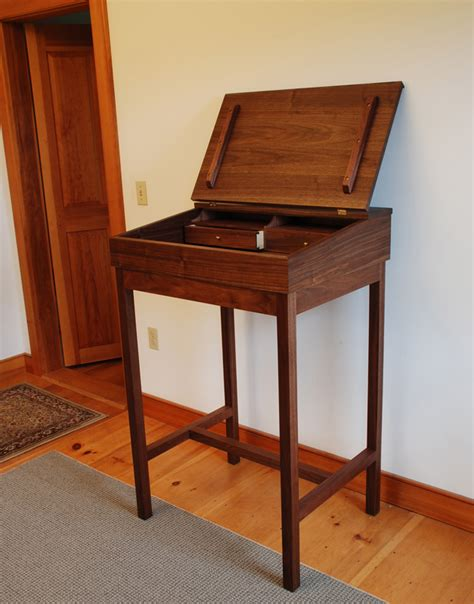 standing writing desk rooms