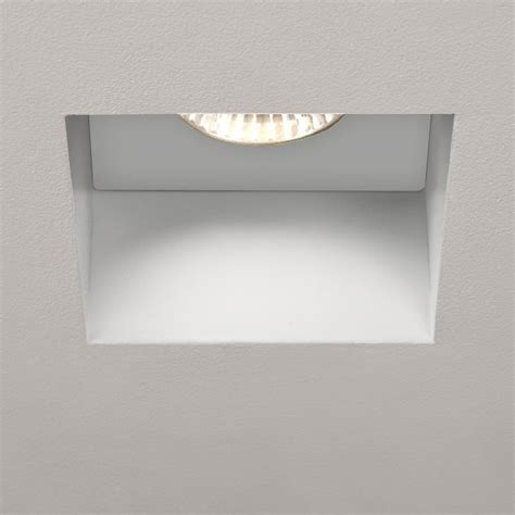 bathroom gu10 downlights astro trimless square gu10 white bathroom downlight at uk
