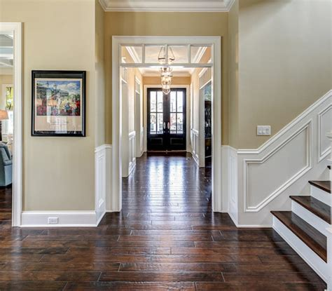 Most Popular Interior Paint Colors wall color in hall and stairway wall