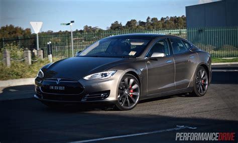 Tesla P85d 2015 Tesla Model S P85d Review Performancedrive