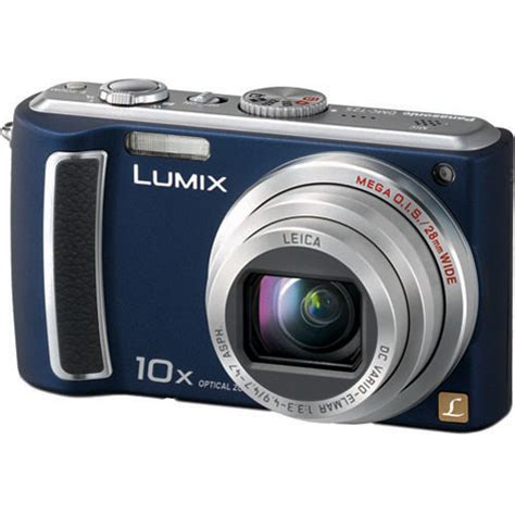 Kamera Panasonic Lumix Tz57 panasonic lumix dmc tz5 digital blue dmctz5a b h