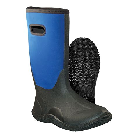 cold front winter slusher mens blue pull on waterproof