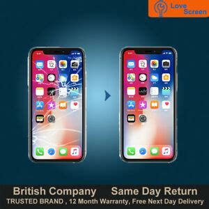 iphone  lcd oled screen display glass replacement service  day repair ebay