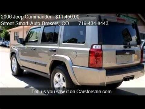 jeep vehicles with third row seating 2006 jeep commander 4x4 commander 3rd row seating 1