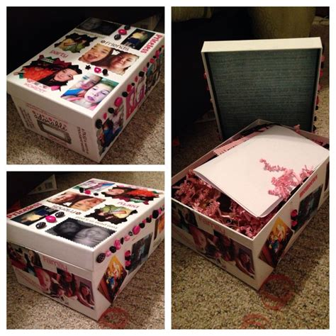 diy wedding gift ideas for best friend simple memory box i made for my best friend for