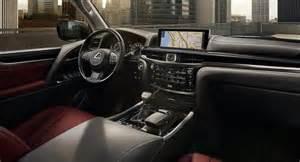 Interior Lexus Lx 570 2017 Lexus Lx 570 Interior Newcarsuv