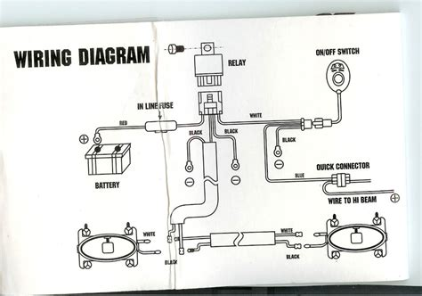 spotlight wiring diagram narva spotlight automotive