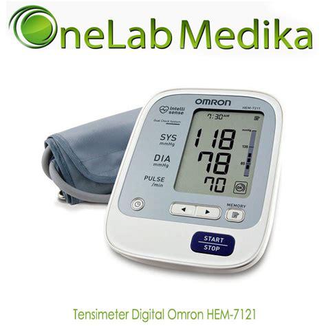 Tensimeter Digital Yang Bagus tensimeter digital omron hem 7121 onelab medika
