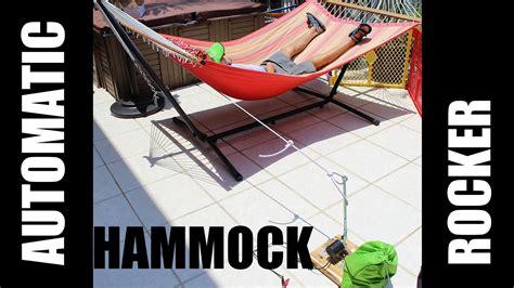 motorized hammock swing automatic electric hammock swing rocker