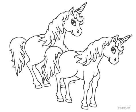 printable unicorn coloring pages  kids coolbkids