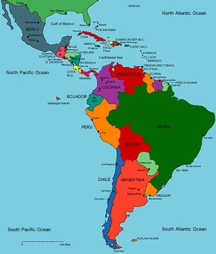 south america map republic 17 best images about what where central south