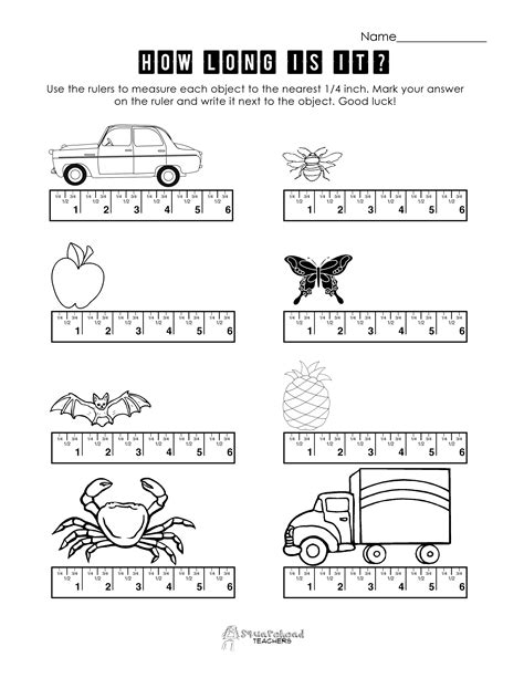 printable ruler measurement worksheets measurement squarehead teachers