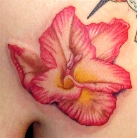 hawaiian flower tattoo designs and meanings hawaiian flower tattoos