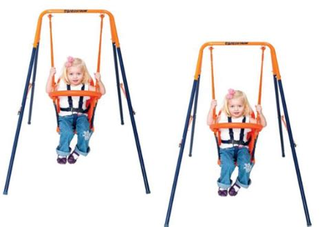 hedstrom baby swing hedstrom deluxe folding toddler swing 163 14 51