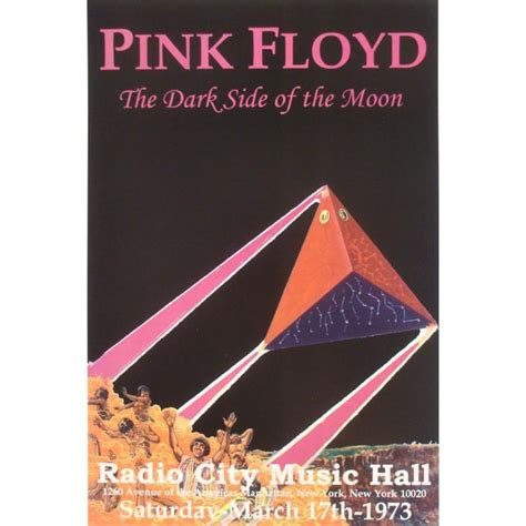 pink poster 5 concert posters eric clapton led zeppelin pink floyd
