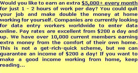 data entry work from home earn 200 500 per day