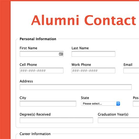 Formassembly Com Forms Alumni Survey Template