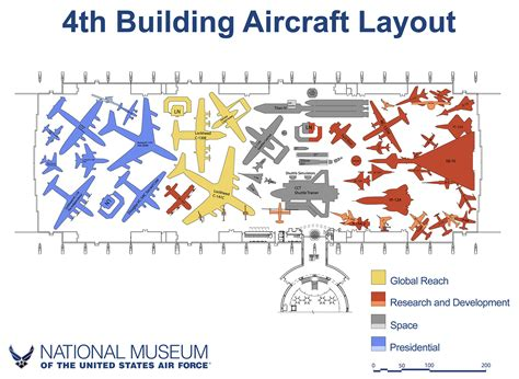 airforce one layout national museum of the u s air force to include xb 70 and