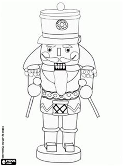 easy nutcracker coloring pages 1000 images about coloring pages christmas on pinterest