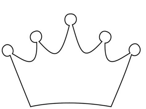 clip art princess crown template