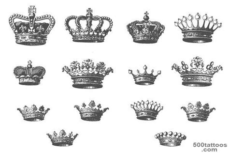 king and queen tattoo flash crown tattoo photo num 1544