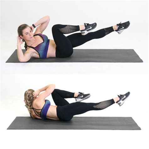 oblique crunches   stronger  muscular core