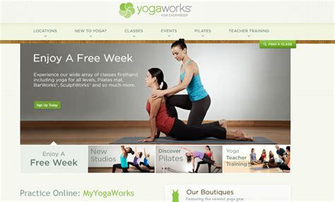 homepage design inspiration 30 health and fitness website layouts for design inspiration