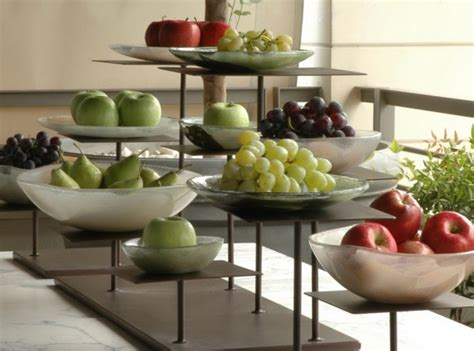 glass bowls for buffet fruit buffet display with buffet elevations and glass