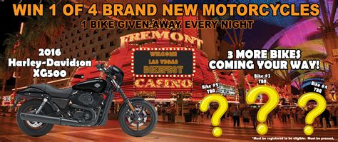 Free Motorcycle Sweepstakes - 2nd free motorcycle