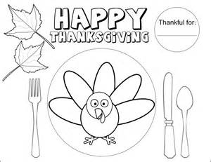 thanksgiving coloring placemats the sugar bee bungalow november 2015