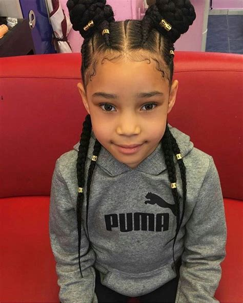 young black american women hair style corn row based braids gang afro hair pinterest hair style kid