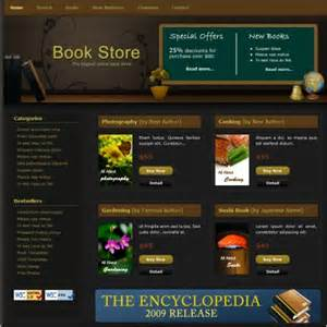 bookshop template book store free website templates in css html js format
