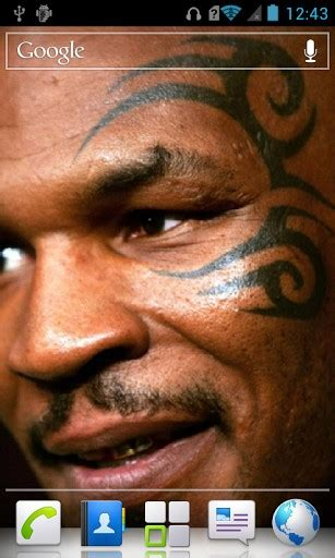 tyson tattoo app download mike tyson hd live wallpaper for android by pbm