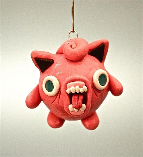 ugly jigglypuff christmas ornament