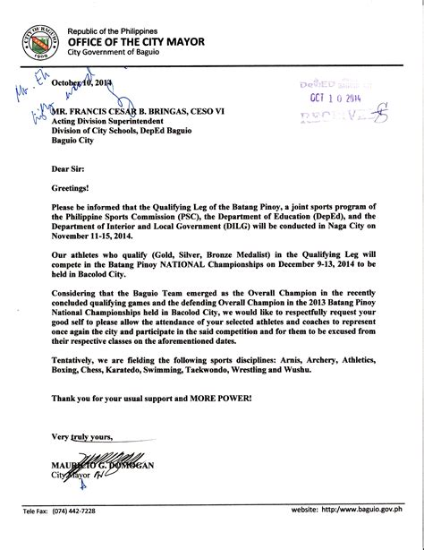 cover letter deped application letter sle deped 28 images cover letter