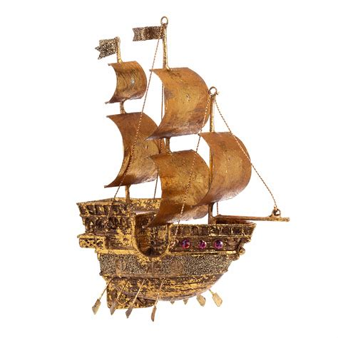 pirate s ship christmas ornament gump s