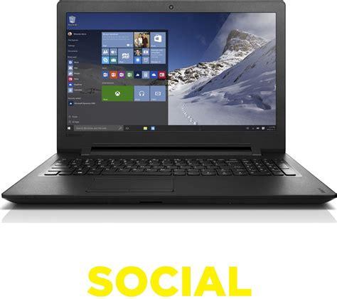 Laptop Lenovo 15 lenovo ideapad 110 15 6 quot laptop black deals pc world