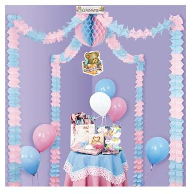 pink blue baby shower blue and pink baby shower ideas babywiseguides