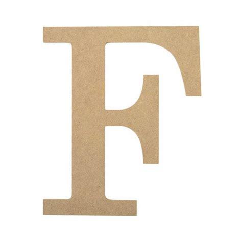 D F Df 10 quot decorative wood letter f ab2030 craftoutlet