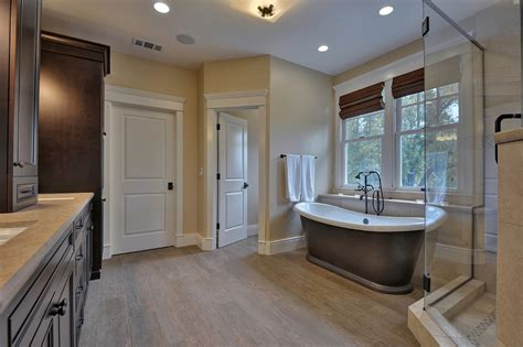 master bathroom los gatos custom home