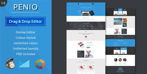 responsive layout maker free download penio v1 0 responsive email template with editor free