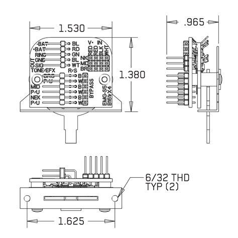 emg solderless 5 way switch wiring diagram solderless