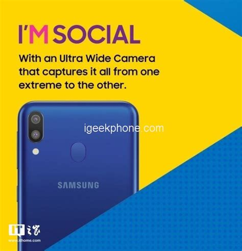 samsung m series samsung galaxy m series launching officially in india on january 28