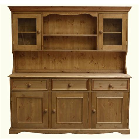 traditional kitchen dressers 5ft traditional glazed dresser