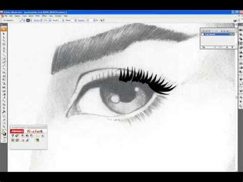 caricature tutorial photoshop cs3 digital inking tutorial intuos illustrator cs3