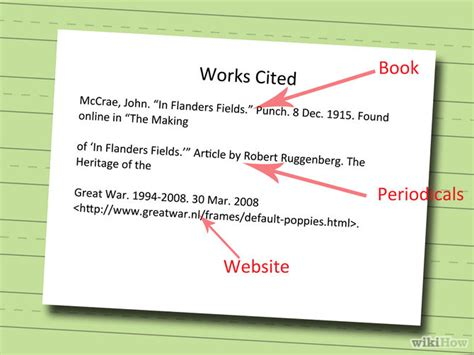 How To Do Works Cited For Research Papers by Works Cited Page For Quotes Quotesgram