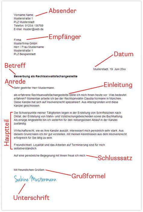 Bewerbung Aufbau 10 Anschreiben Aufbau Resignation Format