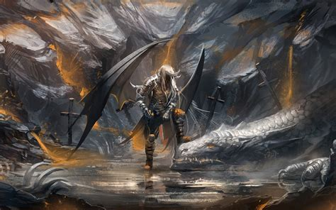 wallpaper abyss warrior angel warrior wallpaper and background 1680x1050 id 343755